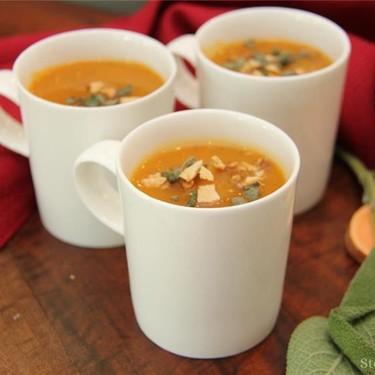 Sweet Potato and Apple Soup Recipe | SideChef