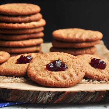 Easy Peanut Butter and Jelly Cookies Recipe | SideChef