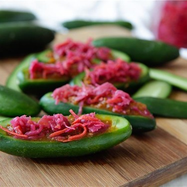 Bolognese Cucumber Boat Recipe | SideChef