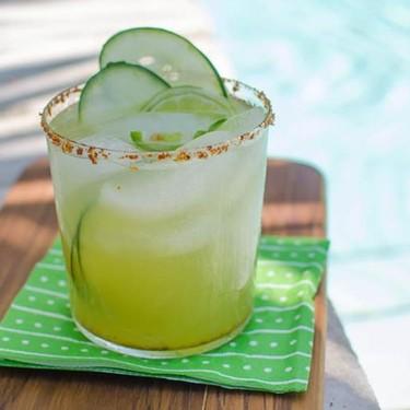 Spicy Cucumber Kiwi Margarita Recipe   SideChef