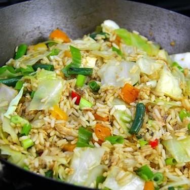 Quick Salmon Fried Rice Recipe | SideChef