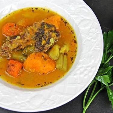 Caribbean Beef, Sweet Potato and Pumpkin Soup Recipe   SideChef