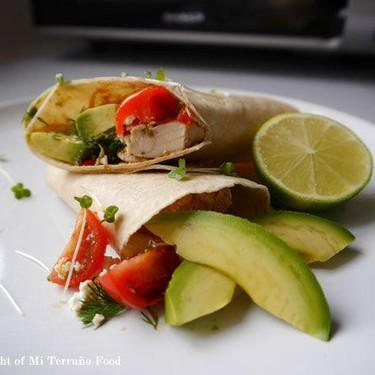 Spicy 'Nduja Chicken Wrap Recipe | SideChef