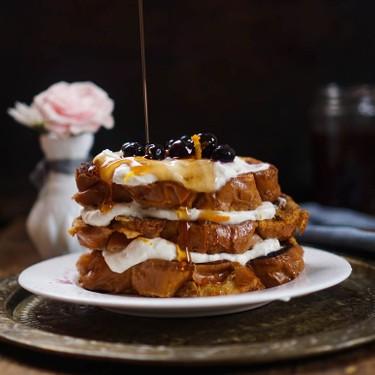 French Toast with Orange Marmalade Whipped Cream Recipe | SideChef