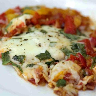 Tuscan Tomato Egg Skillet Recipe | SideChef
