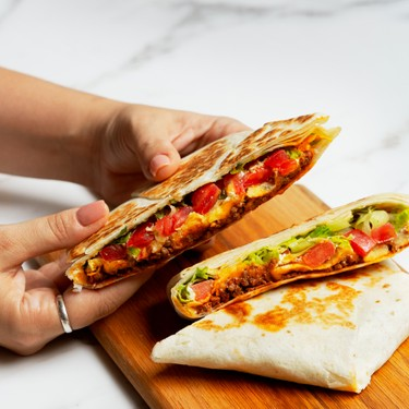 Homestyle Taco Bell Crunchwrap Supreme Recipe   SideChef