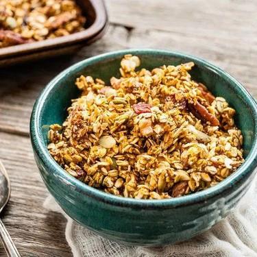 Crunchy Pumpkin Nut Granola Recipe | SideChef