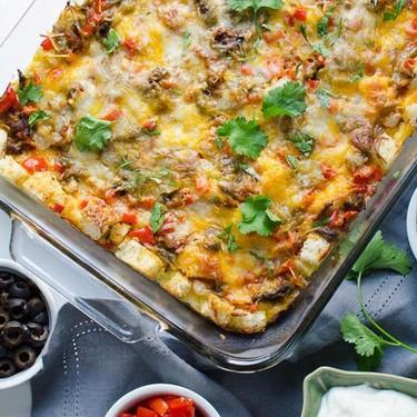Hatch Chile Breakfast Strata Recipe   SideChef