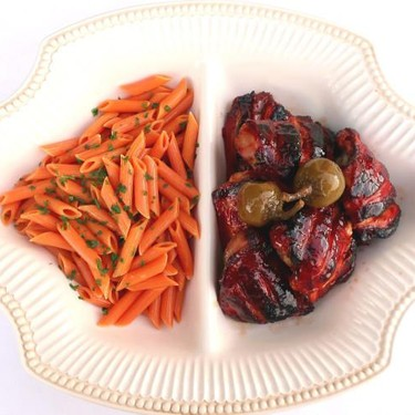 Hoisin Chicken With Sun-Dried Tomato Pasta And Cherry Bomb Peppers Recipe | SideChef