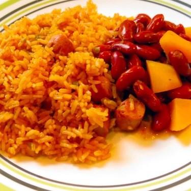 Arroz Con Salchichas (Rice and Sausage) Recipe | SideChef