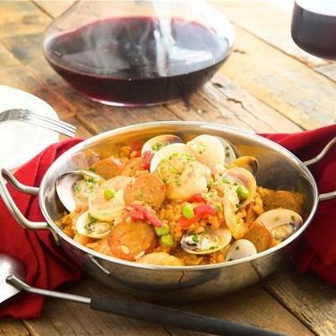 Spanish Paella and Clams with Chorizo and Shrimp Recipe | SideChef