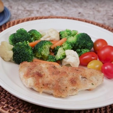 Parmesan Crusted Chicken Recipe | SideChef