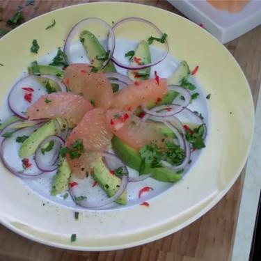 Avocado Grapefruit Salad Recipe   SideChef
