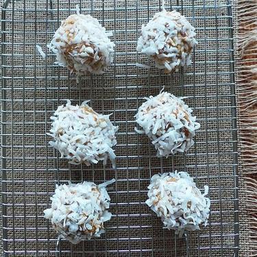 Peanut Butter Coconut Protein Balls Recipe   SideChef