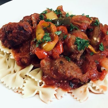 Italian Sausage Peppers and Onions Recipe   SideChef