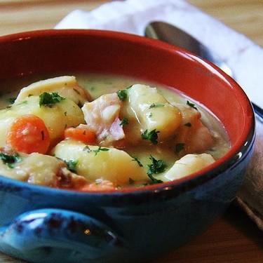 Grandma's Classic Pea & Dumpling Soup Recipe | SideChef