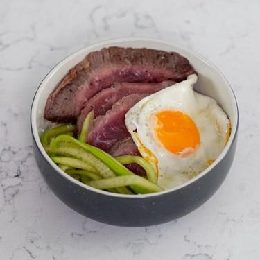 Steak and Egg Cauliflower Rice Bowls Recipe   SideChef