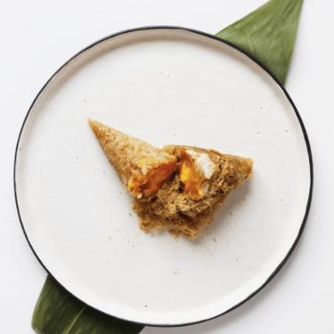 Salted Egg Yolk Roasted Zongzi Recipe | SideChef