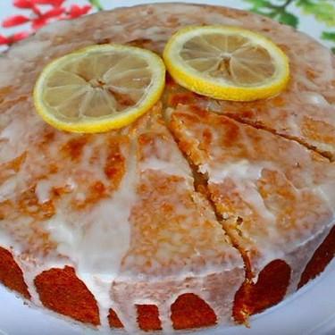 Lemon Cake with Lemon Glaze Recipe | SideChef