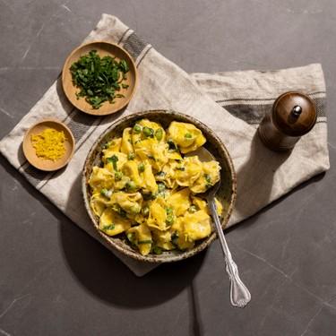 Ricotta Mint Tortellini Pasta Salad Recipe | SideChef