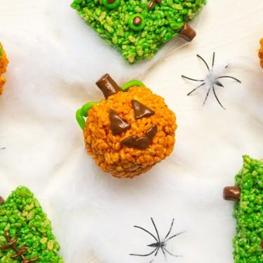 Pumpkin Spice Rice Krispie Treats Recipe | SideChef