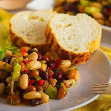 Spicy Sweet Three Bean Salad Recipe   SideChef