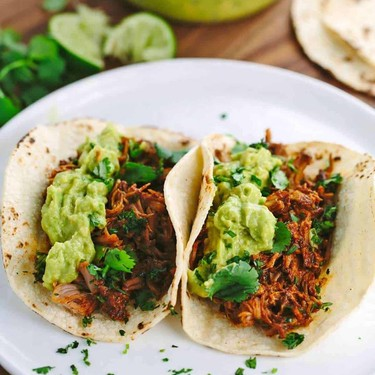 Slow Cooker Mexican Pulled Pork Tacos Recipe   SideChef