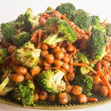 Vegan Thai Peanut Chickpeas Recipe   SideChef