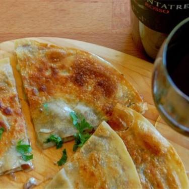 Balsamic Onion Blue Cheese Quesadilla Recipe   SideChef