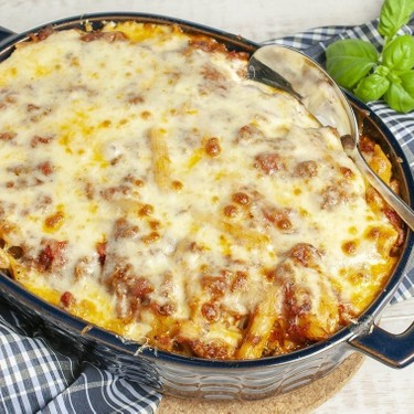 Meaty Baked Pasta Recipe | SideChef