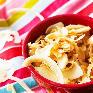 Salty Toasted Coconut Chips Recipe | SideChef