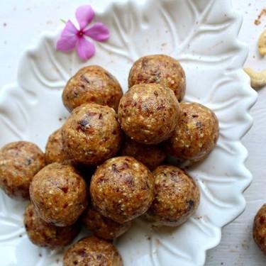 Cashew Pear Energy Protein Balls Recipe   SideChef