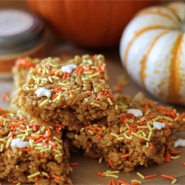Pumpkin Spice Latte Krispie Treats Recipe   SideChef