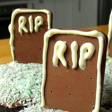 Tombstone Cupcakes Recipe   SideChef