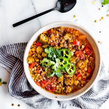 Instant Pot Lentil Gumbo Recipe | SideChef