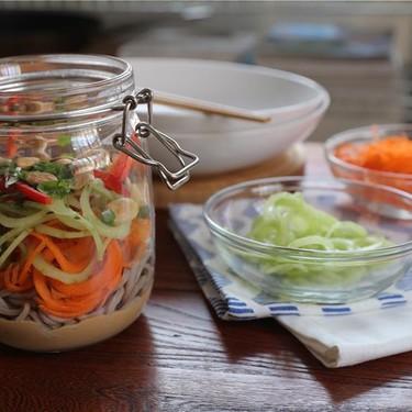 Peanut Soba Noodle Jar Recipe | SideChef