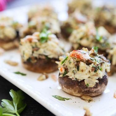 Havarti and Crab Stuffed Mushrooms Recipe | SideChef