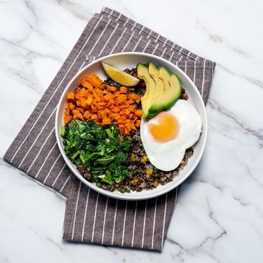 Sweet Potato and Kale Power Bowl Recipe | SideChef
