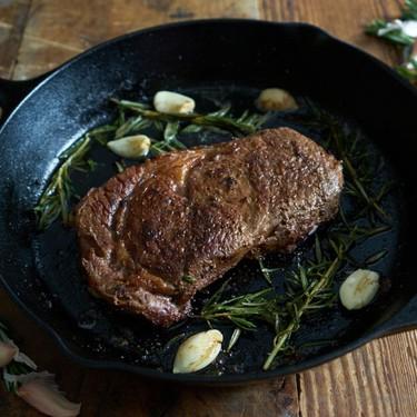 Cast Iron Skillet Steak Recipe | SideChef