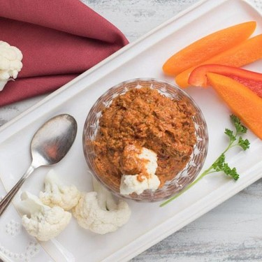 Roasted Pepper Mouhamara Recipe | SideChef
