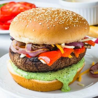 Grilled Portabella Burgers Recipe   SideChef