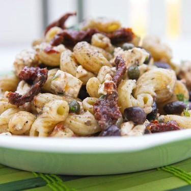 Black Bean Sun-Dried Tomato Pasta Salad Recipe | SideChef