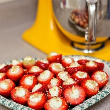 Cheesecake Filled Strawberries Recipe | SideChef