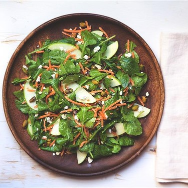 Arugula Salad with Green Apple and Goat Cheese Recipe | SideChef