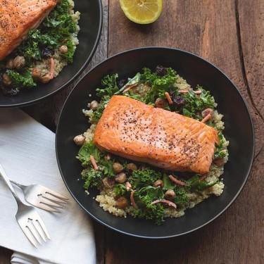 Salmon Quinoa Bowl with Kale Recipe | SideChef