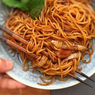 Soy Sauce Noodles Recipe   SideChef