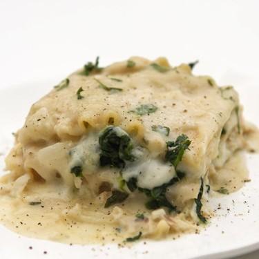 White Chicken Lasagna Recipe   SideChef