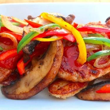 Parmesan-Crusted Pork Medallions Recipe | SideChef