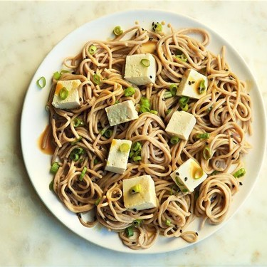 Chilled Soba Noodles with Spicy Orange Sesame Recipe | SideChef