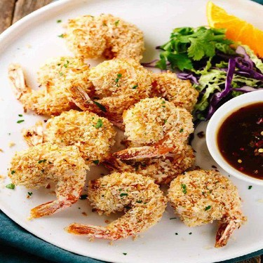 Crunchy Coconut Shrimp with Orange Sauce Recipe   SideChef